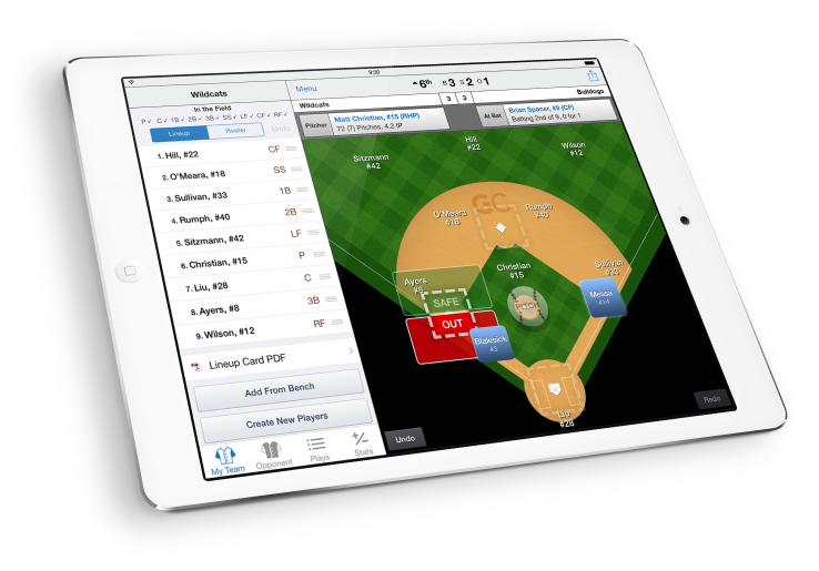 GameChanger Baseball Scorekeeping App